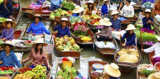 Chợ nổi Bốn Mùa Pattaya – Điểm đến du lịch hấp dẫn